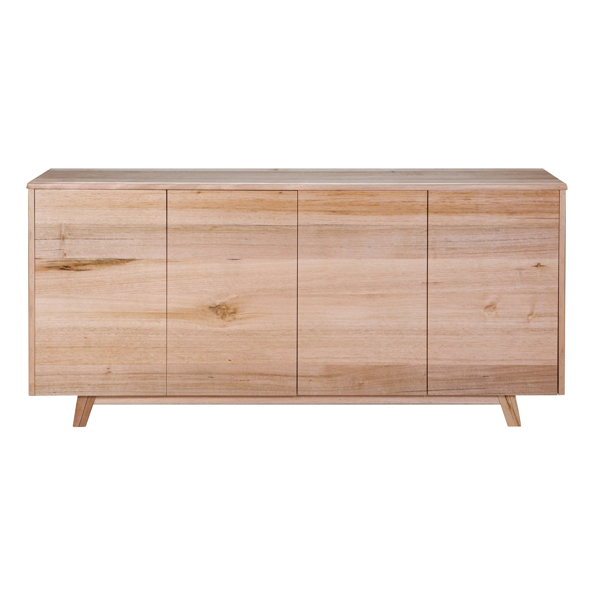 Wade Tasmanian Oak Timber 4 Drawer Buffet Table, 181cm