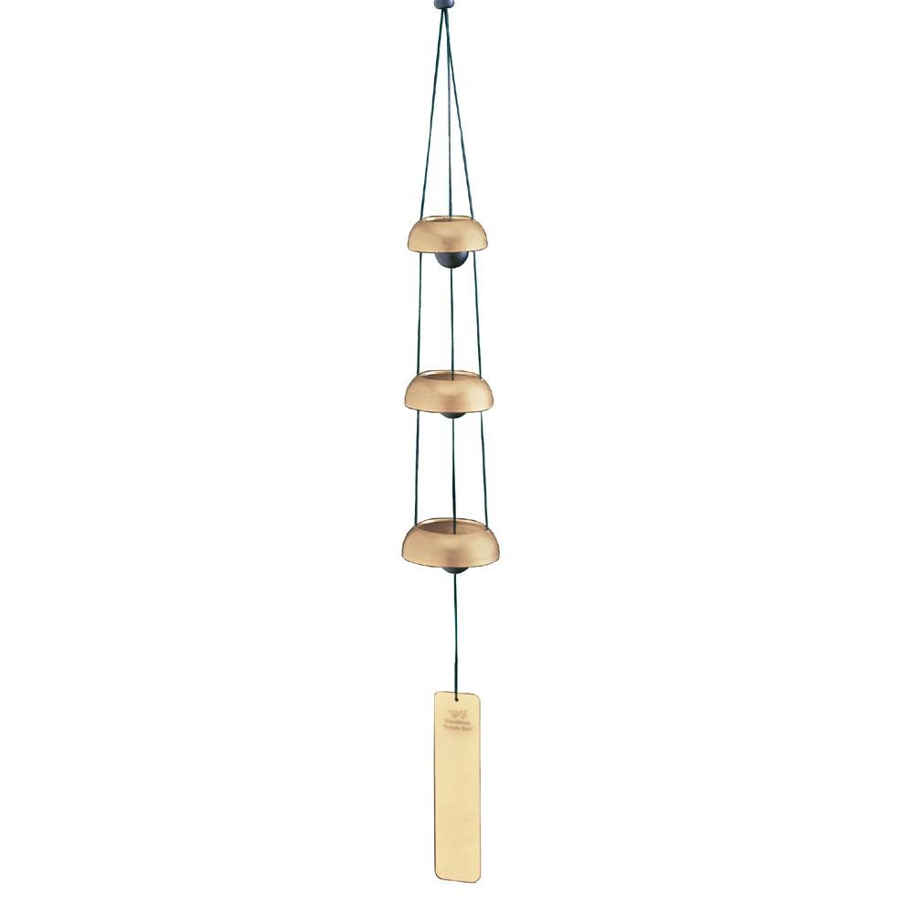 Woodstock Temple Bells Wind Chime, Trio