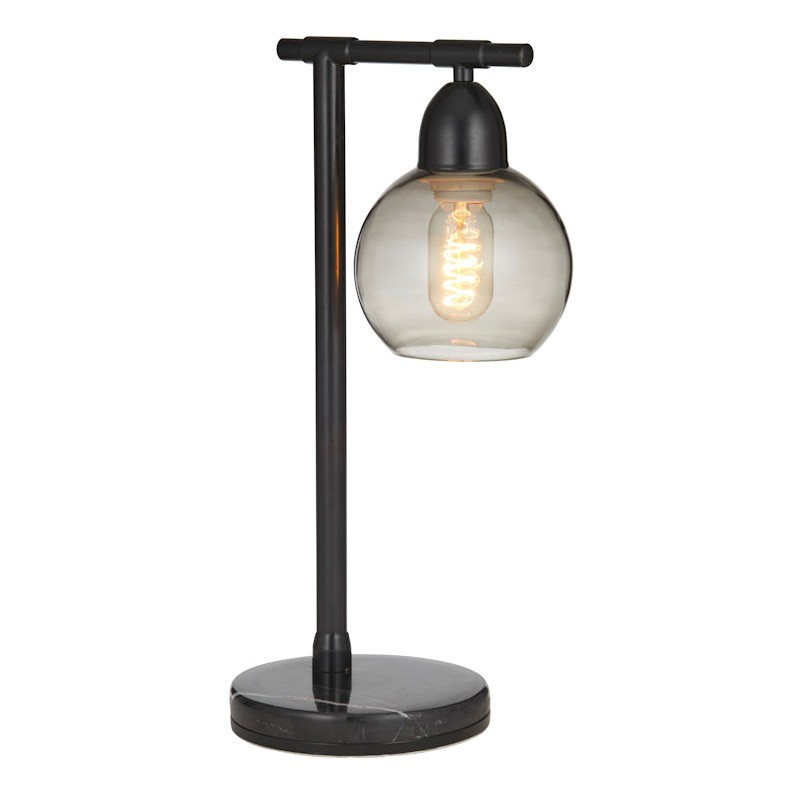 Bourke Metal Table Lamp, Black