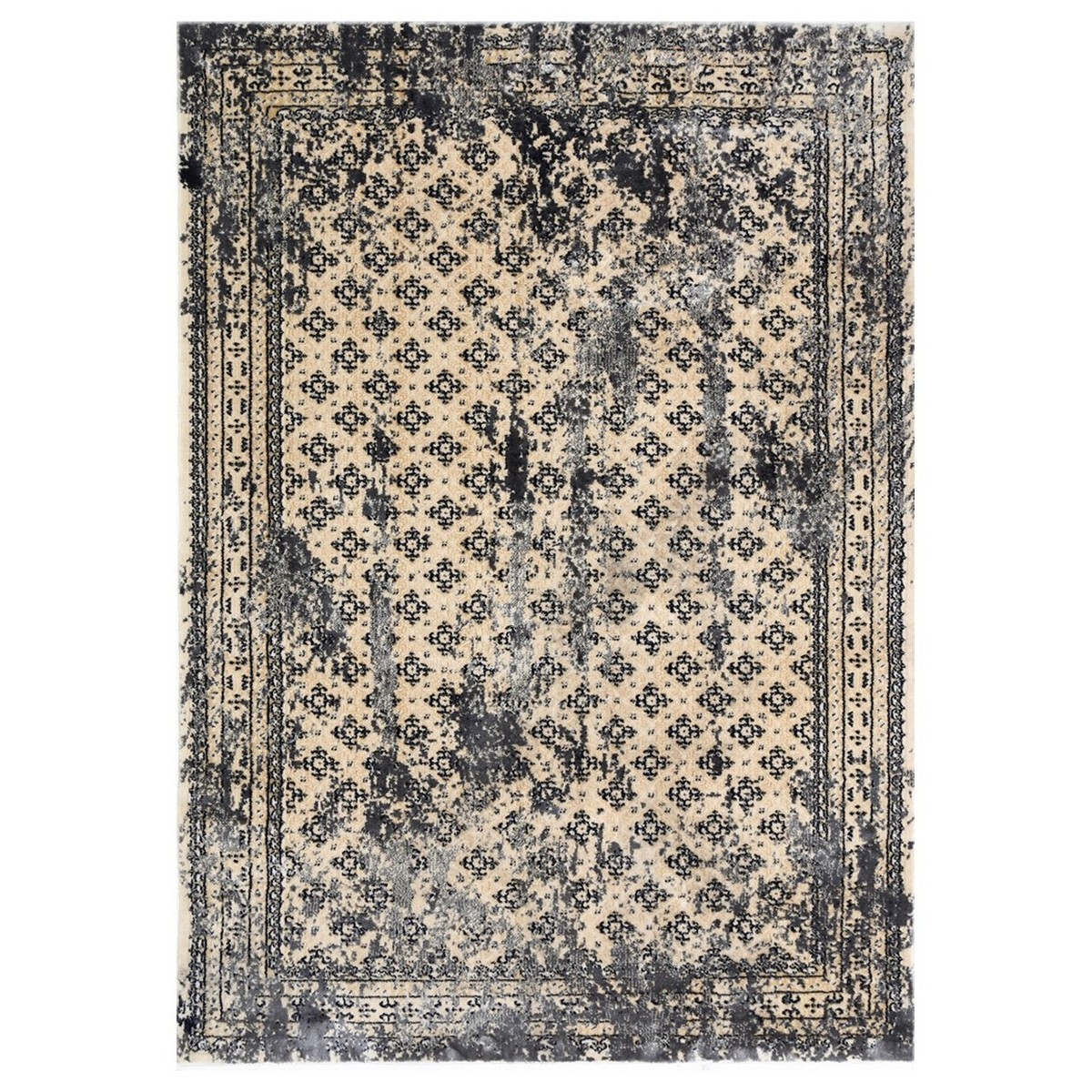 Artifact Jesper Distressed Oriental Rug, 80x150cm