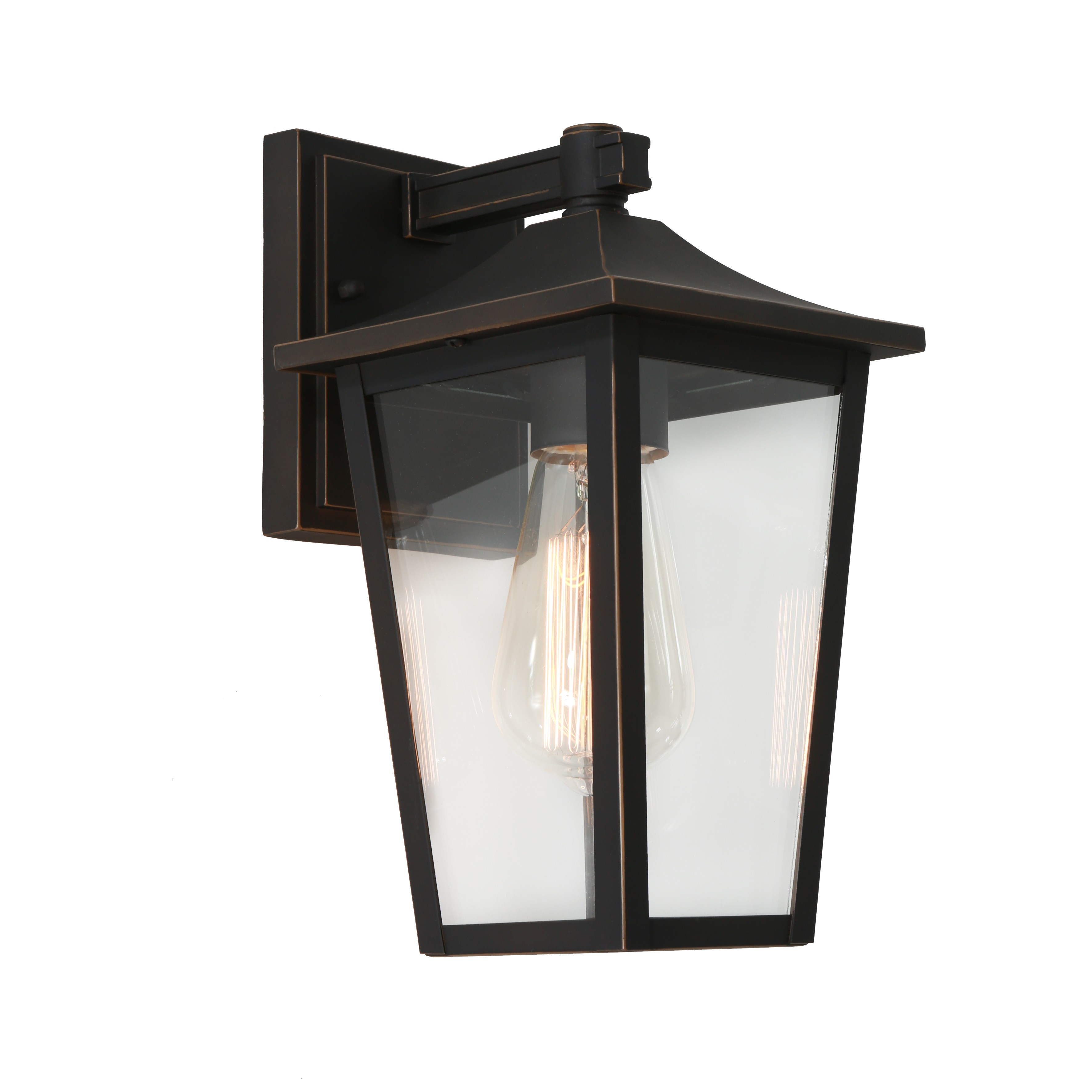York Commercial Grade IP43 Exterior Wall Lantern, Bronze