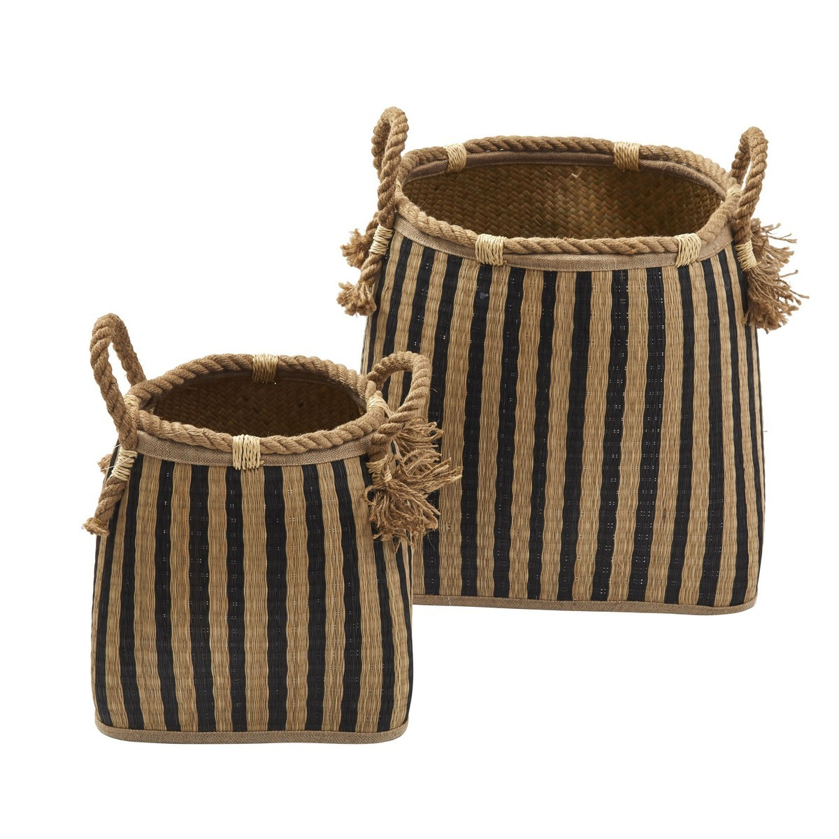 Nantego 2 Piece Seagrass Basket Set