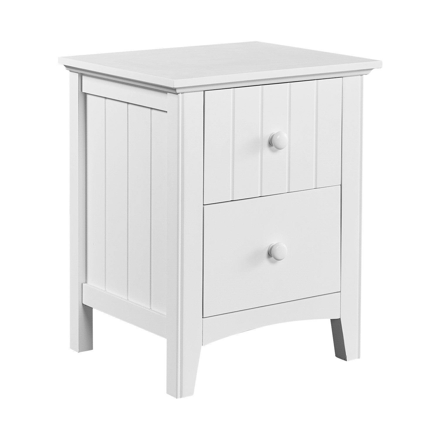Louin Poplar Timber Bedside Table