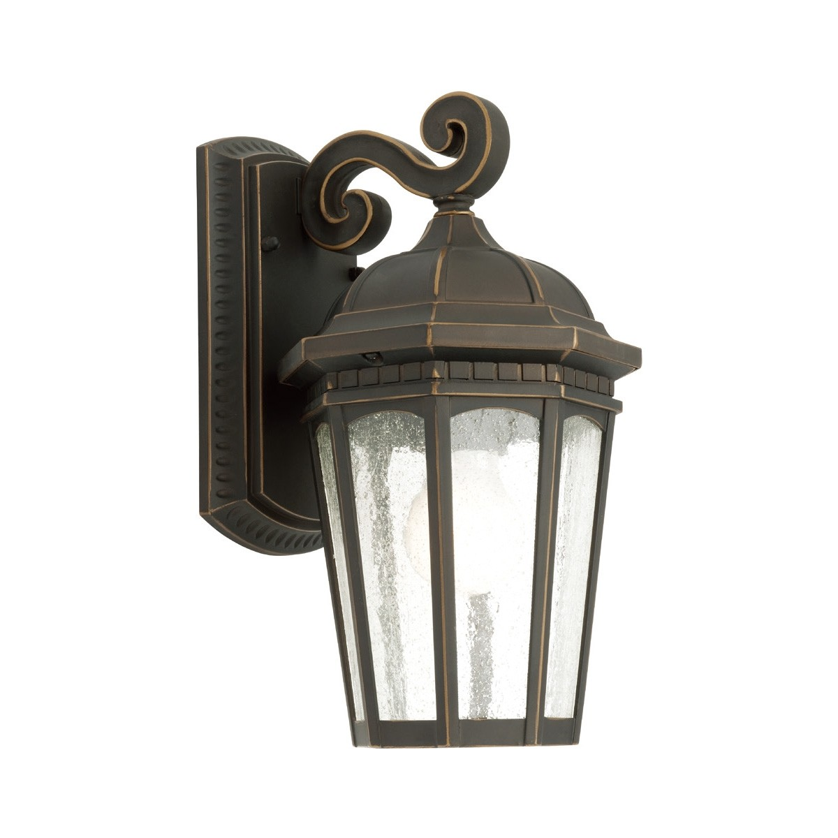 Cambirdge IP43 Outdoor Wall Light - Bronze