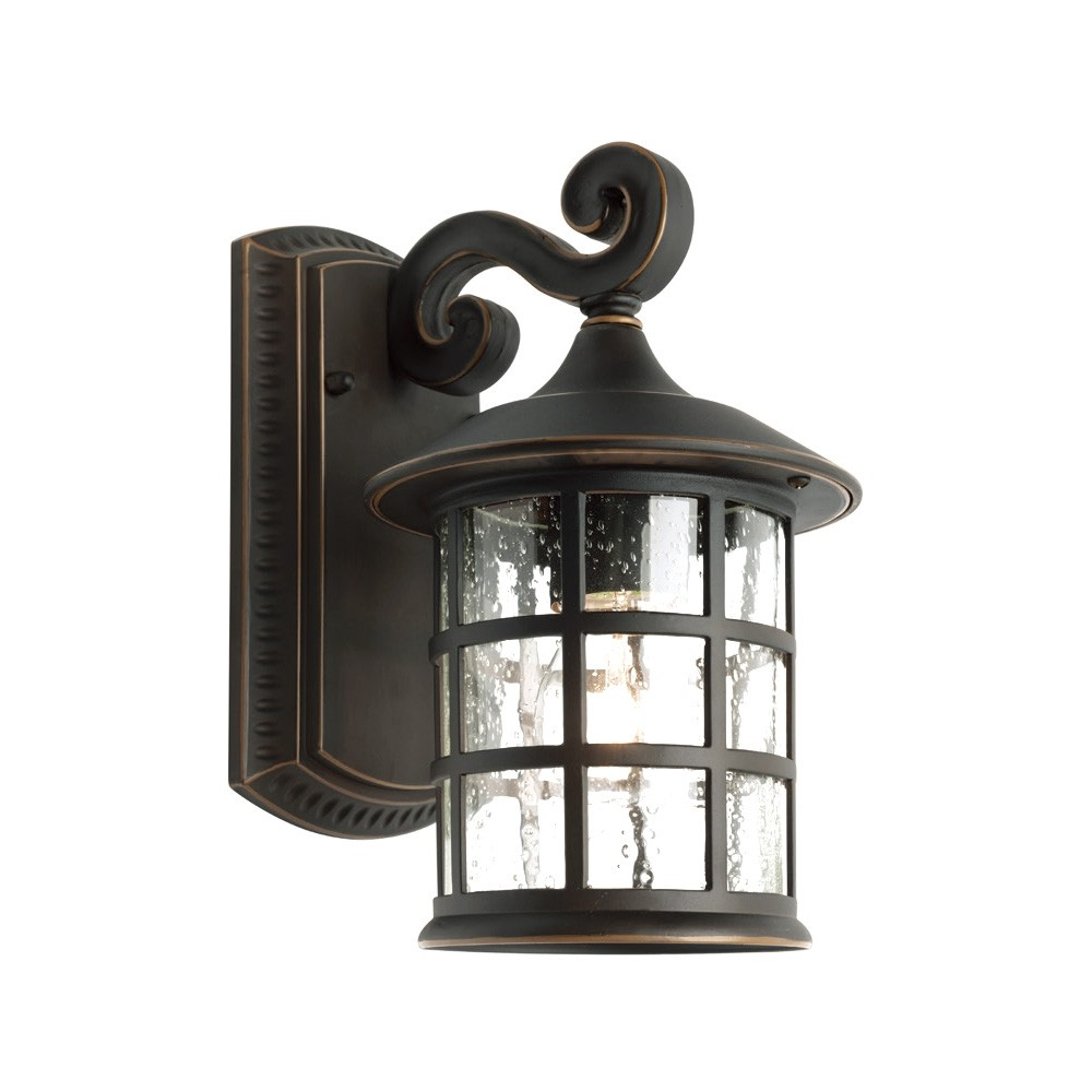 Coventry Small IP43 Aluminium Outdoor Wall Light - Bronze