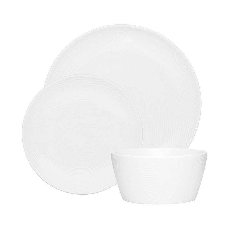 Noritake Colorscapes WOW Dune 12 Piece Fine Porcelain Dinner Set