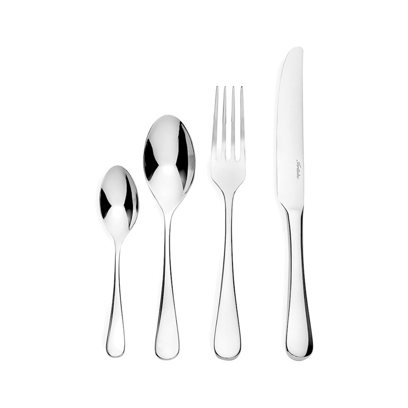 Noritake Chamonix 24 Piece Stainless Steel Cutlery Set