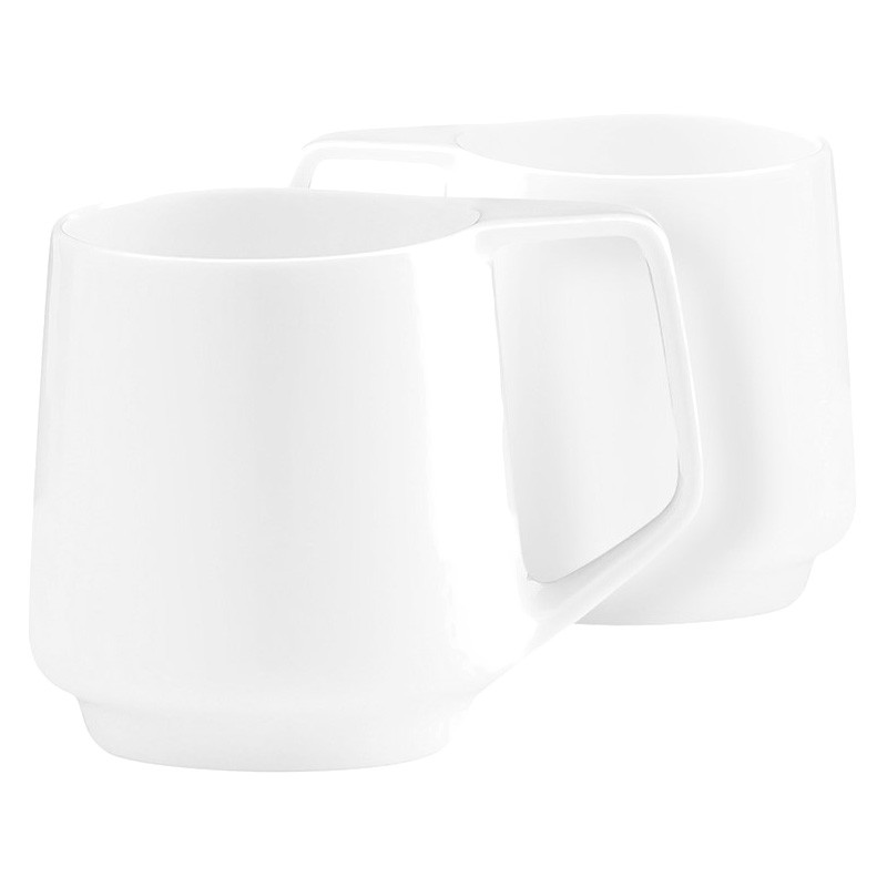 Marc Newson by Noritake Set of 2 Fine Bone China Mugs