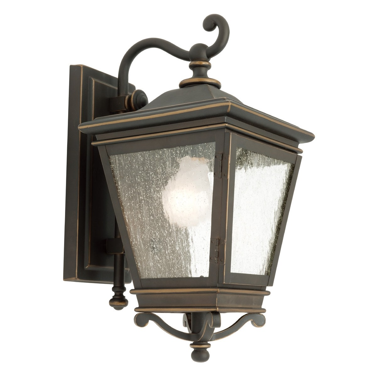 Nottingham IP43 Outdoor Wall Light - Bronze