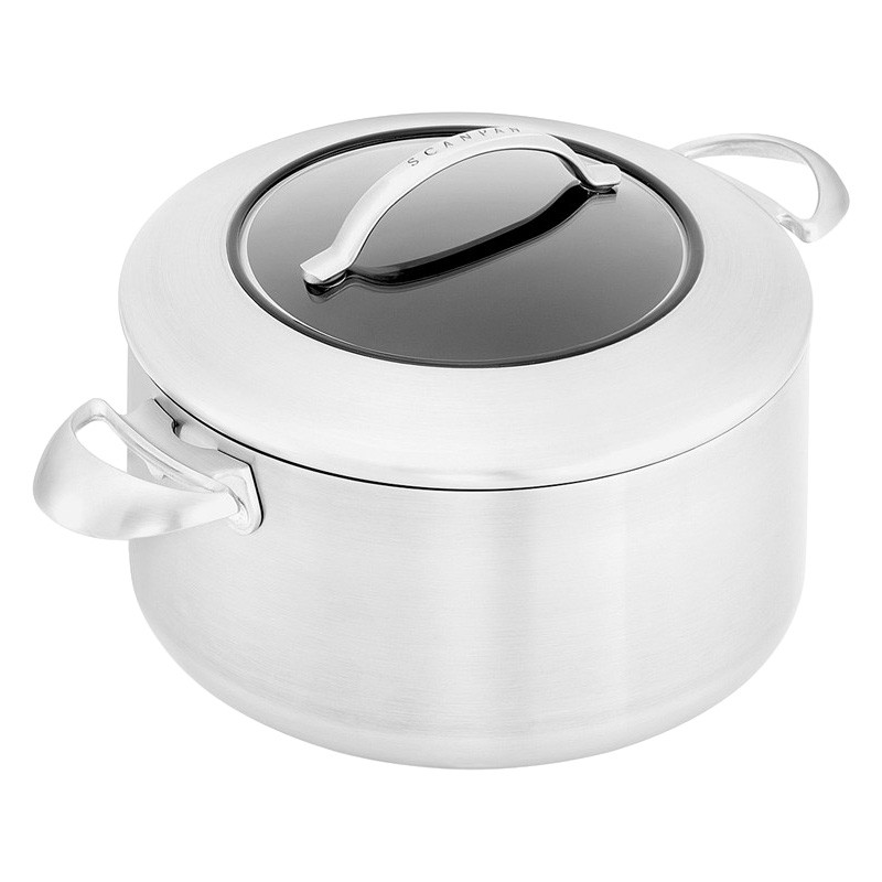 Scanpan CTX Commercial Grade Non-stick Casserole with Lid, 24cm