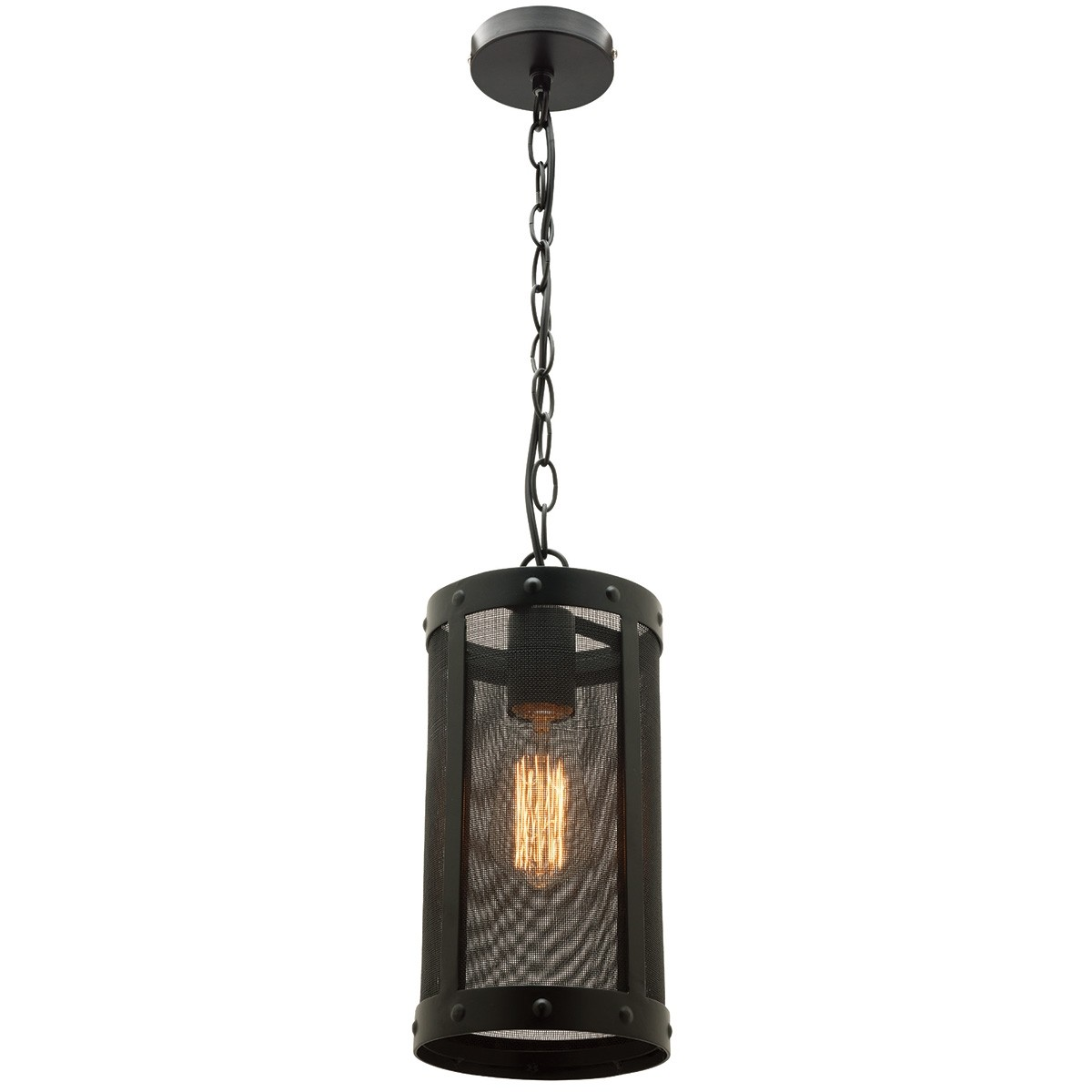 Ulric 1 Light Metal Pendant Light