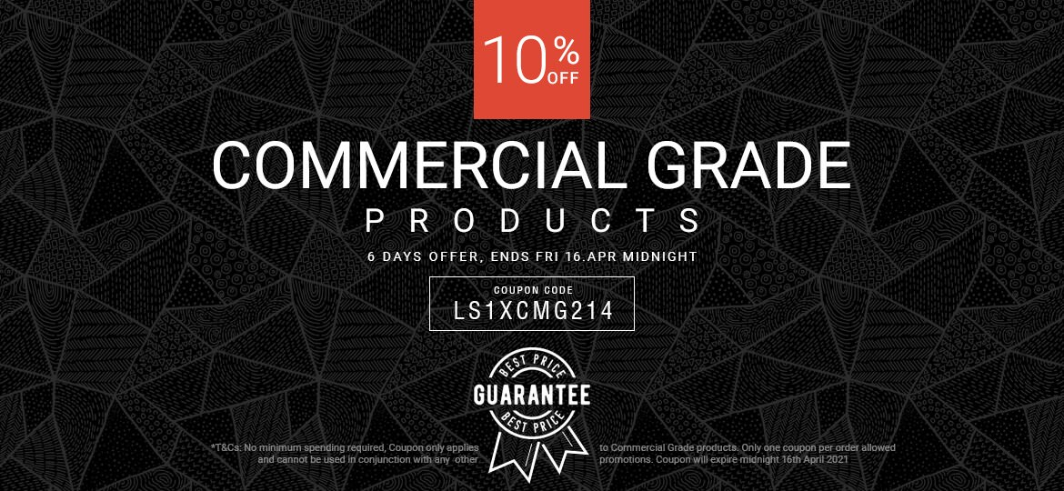 10% Off Commercial Grade