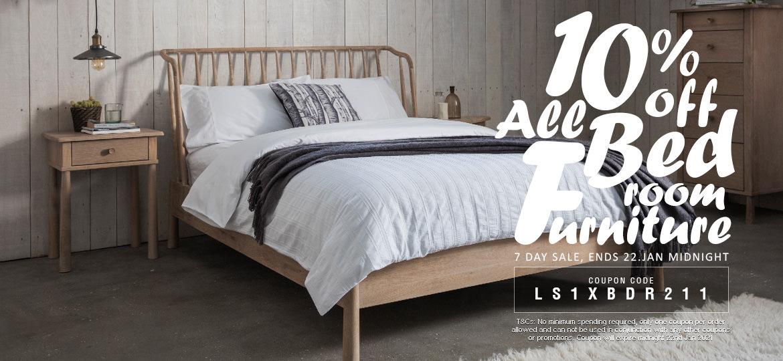 10% Off Bedroom Furniture