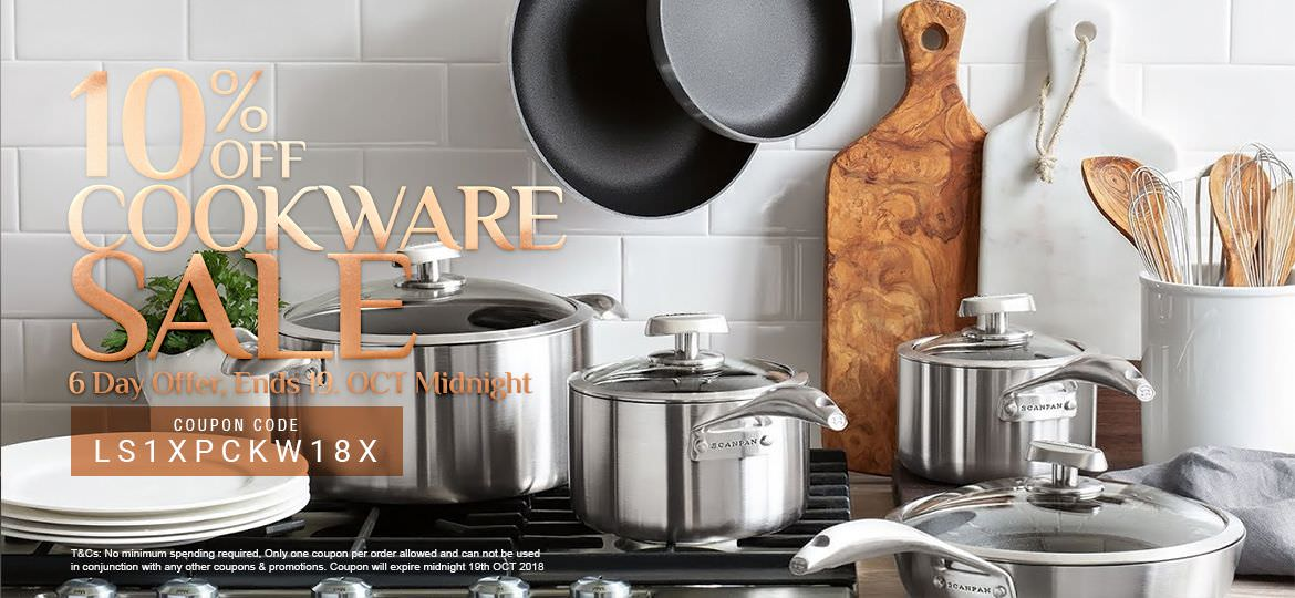 10% Off Cookware