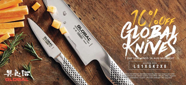 10% Off Global Knives