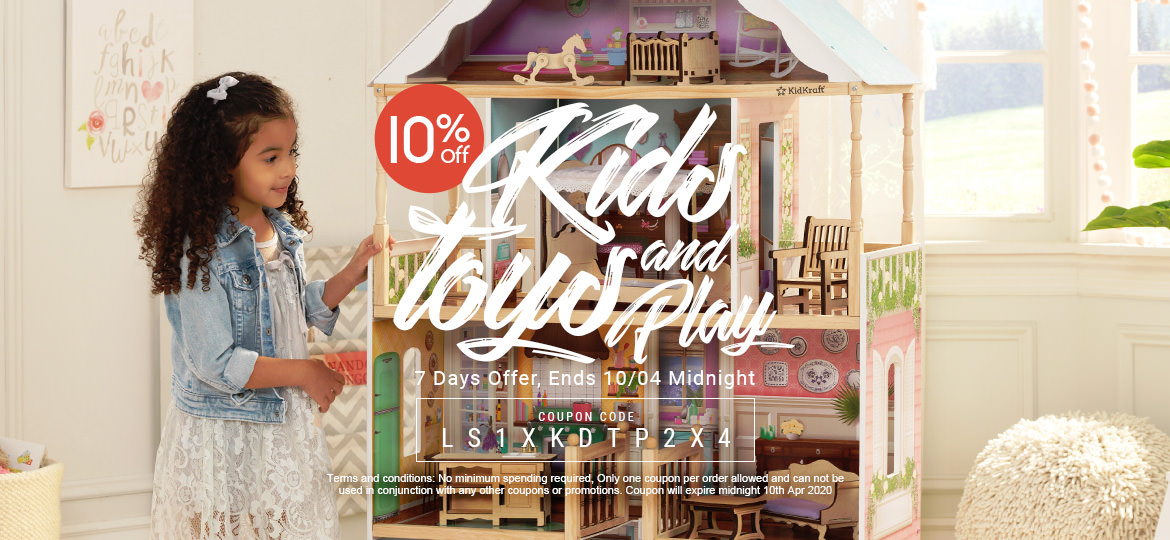 10% Off Kids Toy & Play