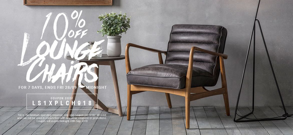 10% Off Lounge Chairs