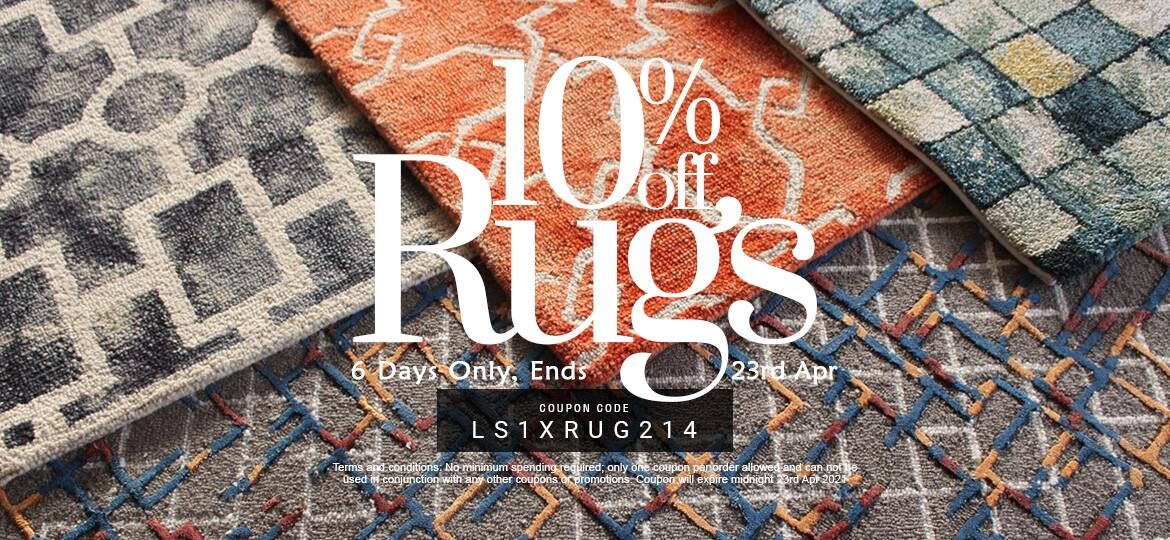 10% Off Rugs