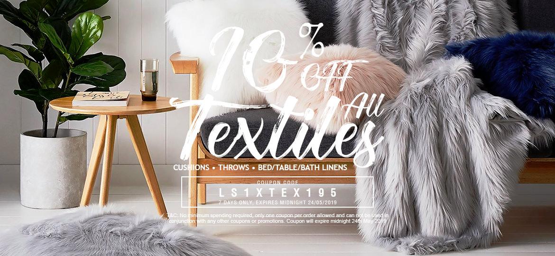 10% Off Textile
