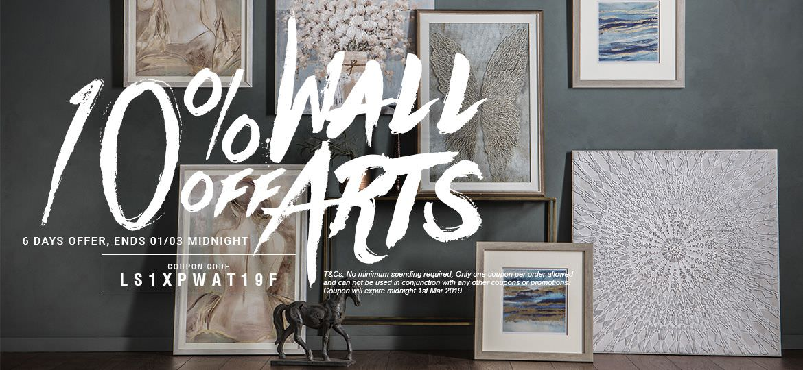 10% Off Wall Arts