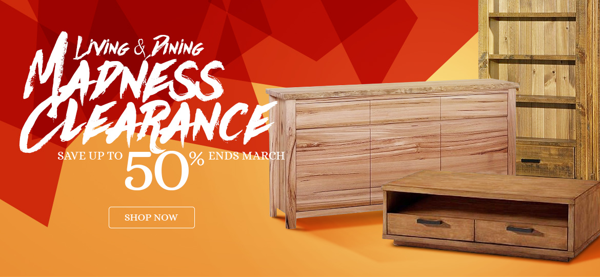 Madness Clearance, Living & Dining