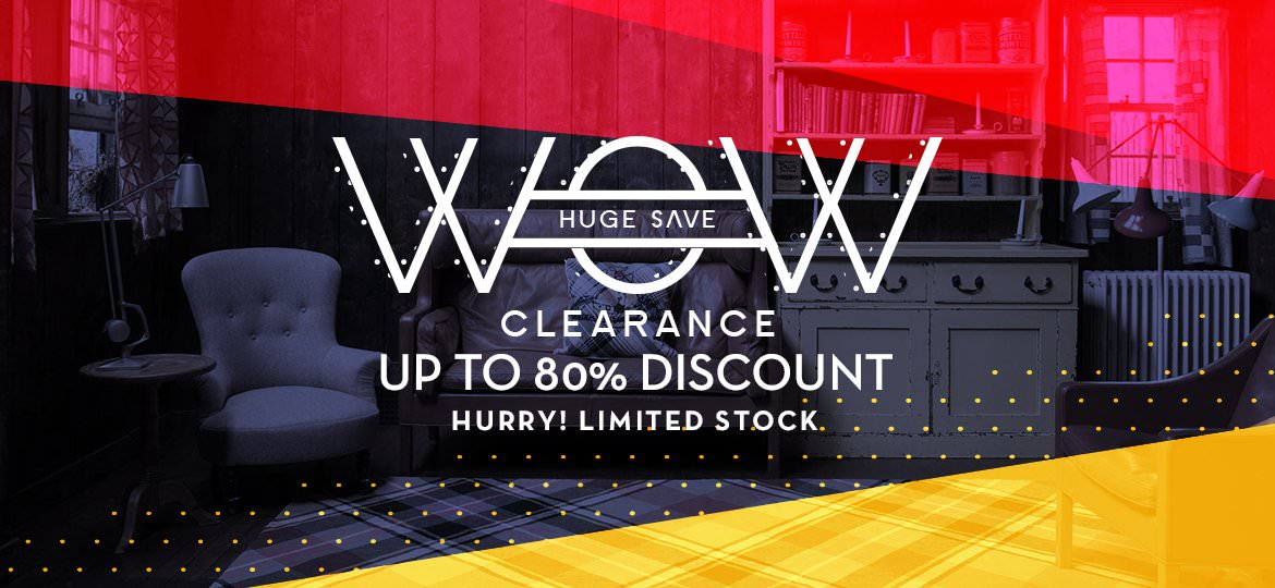 Save Huge from Our Clearance Range, Discount Up To 80% Off, Limited Stock!